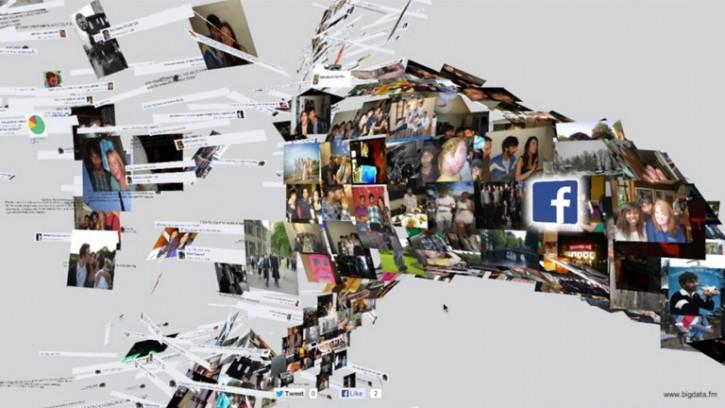 Big Data - Facehawk interactive music video by Rajeev Basu
