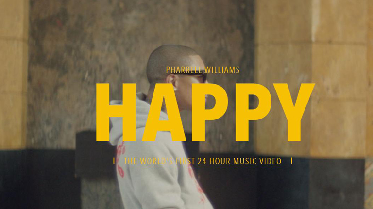 Pharrell Williams - Happy interactive music video by We Are from L.A